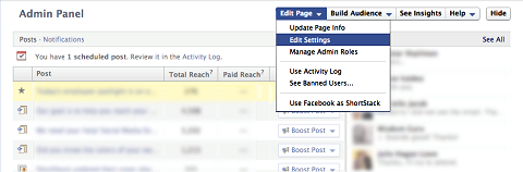 You can add/remove admins straight from the Admin panel.
