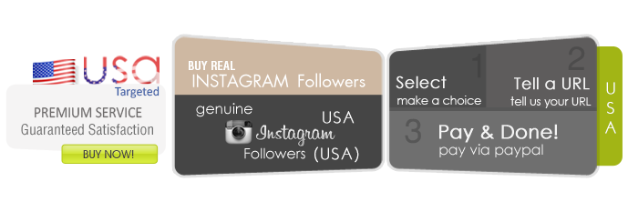 Buy Instagram followers USA