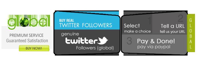 Twitter Followers - Global