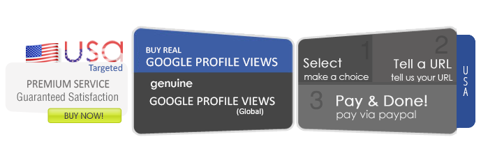 Buy Google Profile Views