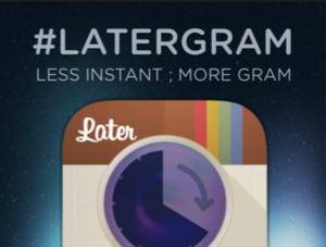 Latergram software