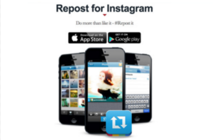 repost Instagram software