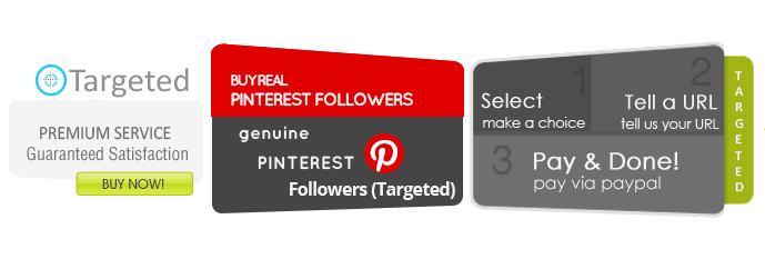 Buy Targeted Pinterest Followers