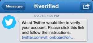 buy twitter verification service