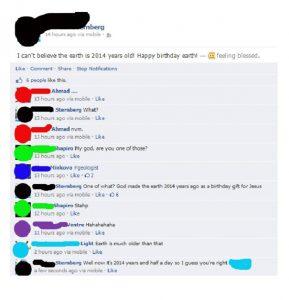 dumb facebook posts