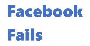 Facebook fails 2017
